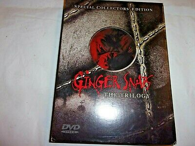 Ginger Snaps The Triology DVD Special Collectors' Edition OOP Rare Canada Print