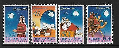 1989 Christmas set 4  Complete MUH/MNH as Issued