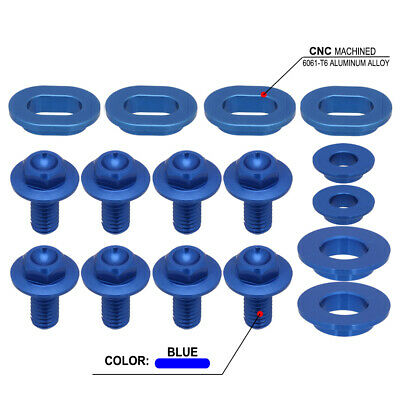 New Blue Screw Bolts of Radiator Shrouds For Yamaha WR WR450F 2012 2013 2014