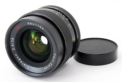 【Excellent+】Contax Carl Zeiss Distagon 28mm F2.8 MMJ Lens from Japan 369909