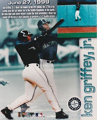 b5ba87811d Ken Griffey Jr 8X10 Color Licensed Photo File Mlb Seattle Mariners Last  Home Run
