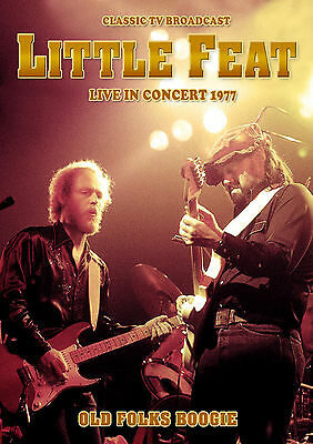 LITTLE FEAT New Sealed 2019 LIVE 1977 CONCERT DVD