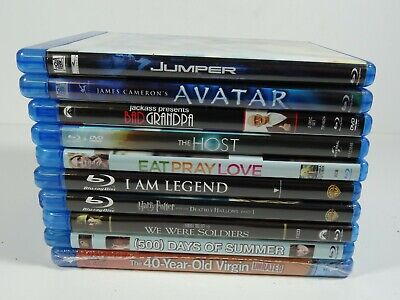 Blu Ray mixed lot of 10 Used