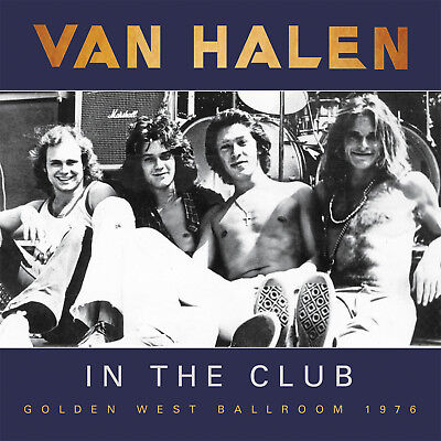 VAN HALEN New Sealed 2019 EARLY UNRELEASED 1970s LIVE CLUB CONCERTS CD
