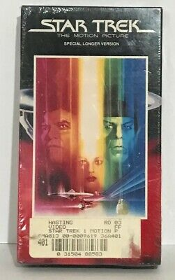 Star Trek The Motion Picture Special Longer Version VHS New