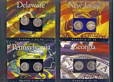 The State Quarters Program 1999, 2000, 2001, And 2002 { Plus Texas }