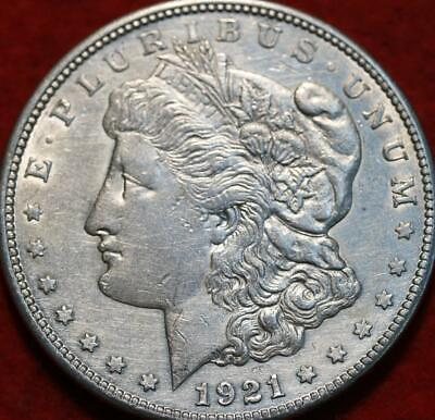 1921-S San Francisco Mint Silver Morgan Dollar