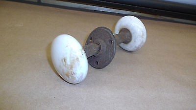 Vintage / Antique Door Knob Assembly                        # 2003