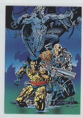 1992 Comic Images Wolverine: From Then 'Til Now II #62 Cable Non-Sports Card 1k3