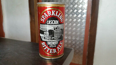 vintage cascade bitter ale tin beer can