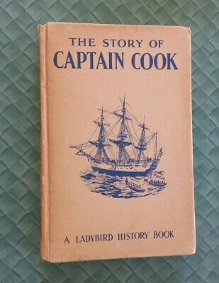 Ladybird Books Vintage. Story Of Captain  Cook