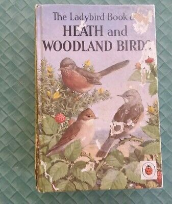 Ladybird Books Vintage. Heath And Woodland Birds.