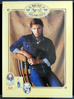 VINTAGE LEVI'S Advertising Poster 1970s Levi Strauss Blue Jeans