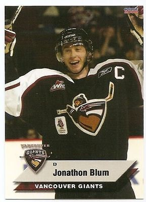 08/09 VANCOUVER GIANTS TEAM ISSUE Hockey (#1-24) U-Pick from List