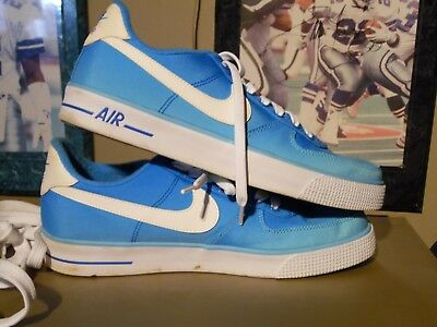 low priced 79e41 4bd29 2014 Nike Air Force One AC Breathe QS Polarized Blue Clean Size 8