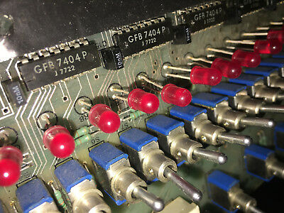 Nasa Shuttle Launch Control Room Or Space Flown? Circuit Board
