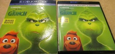 The Grinch (Blu-ray 4K UHD, 2018) 1-Disc Never Viewed NO CASE FAST SHIPPING!