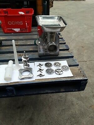 Commercial Benchtop Meat Mincer and Meat slicer package deal