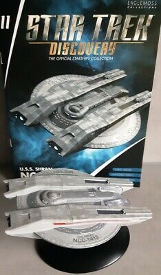 Star Trek Discovery Starships Collection Eaglemoss #11 U.S.S. Shran NCC-1413 eng