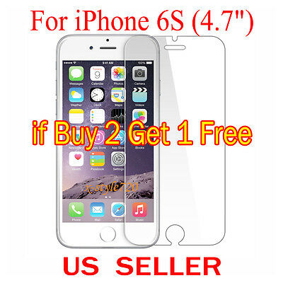 """1x Clear LCD Screen Protector Guard Cover Shield Film For Apple iPhone 6S (4.7"""")"""