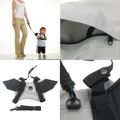 Baby Kid Toddler Safety Anti-lost Harness Walking Leash Strap Cartoon Backpack