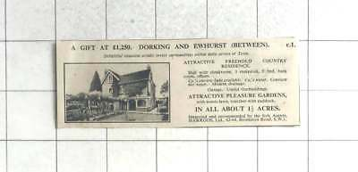 1935 Five Bed House On 1 Acre Between Dorking And Ewhurst, £1250