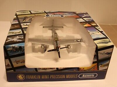 """Franklin Mint/Armour 1/48 Scale Model P-51 Mustang """"Big Beautiful Doll"""""""