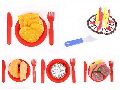 Kids Children 60Pc Cooking Food Vegetable Pretend Role Play Set Plastic Toy Game