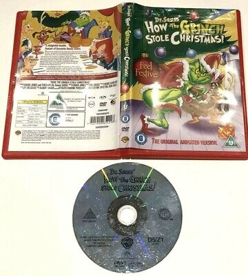 Dr Seuss' How The Grinch Stole Christmas DVD