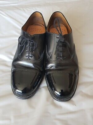 USED Mens Parade Shoes Black Leather RAF/RAFC  size 9