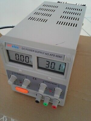 Linear DC Bench Power Supply HY3005D 30V 5A In good working condition