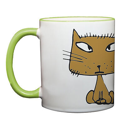 Ma2ca® Good Morning Katzen Becher Tasse  Tasse Becher