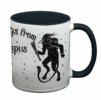 Ma2ca® Greetings from Krampus Tasse Weihnachten Tasse Becher