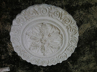 Chandelier Ceiling Wall Rose Architectural French Ornate Decoration Plaster  #3