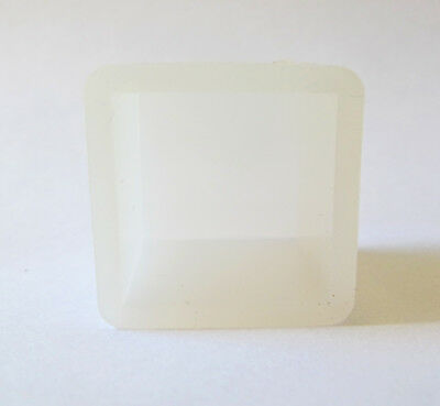 Clear silicone resin mold cube square shapes jewelry crafts crafting resin