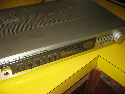 Teac A50 stereo amplifier. Made in Japan