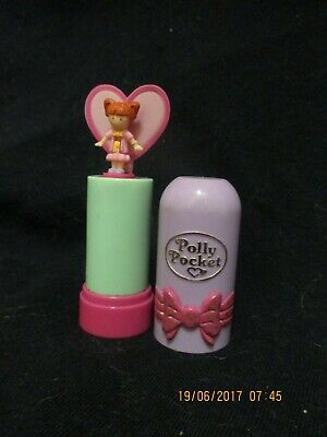 POLLY POCKET 1992 Pop Up Butterfly  Lipstick compact