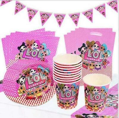Lol Surprise Doll Birthday Party Supplies