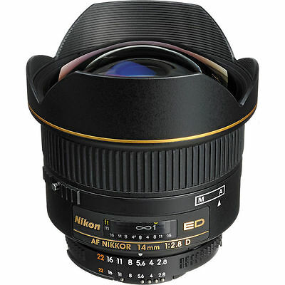 Nikon AF Nikkor 14mm f/2.8D ED Lens, London