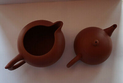 Yixing Clay Gongfu Pitcher and Teapot Set