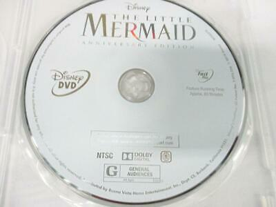 The Little Mermaid: 30th Anniversary Signature (DVD, 2018) 1-Disc NO CASE