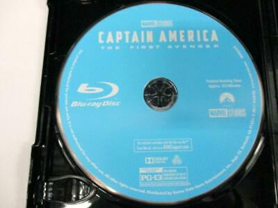 Captain America: First Avenger (Blu-ray Disc Only, 2011) Never Viewed NO CASE
