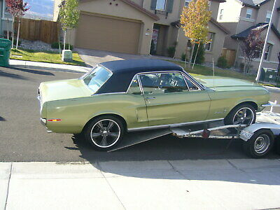 1968 Ford Mustang  289, 43k Mostly Original cond. 1 family owner. Matching numbers.