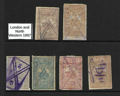 Railway Parcel Stamps: London & North Western Railway: April 1897