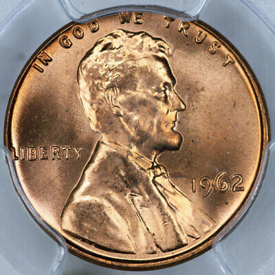 1962 PCGS MS66RD Lincoln Cent
