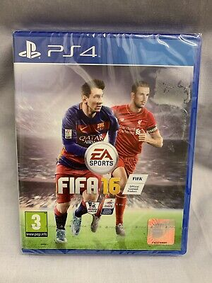 FIFA 16 Playstation 4 (PS4) Brand New Sealed