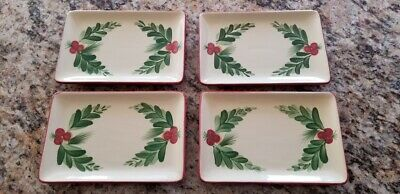 Gail Pittman Southern Home Living Christmas Memories App Plates Mint Condition