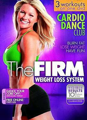 THE FIRM CARDIO DANCE CLUB (DVD) salsa sizzle latin caribbean groove 3 workouts