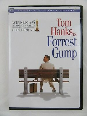 Forrest Gump DVD Special Collector's Edition 2006 Widescreen Tom Hanks Good Cond