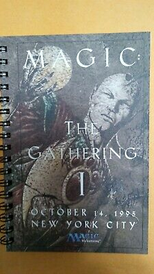Vintage Magic The Gathering 1 Event Book From 1995.   RARE